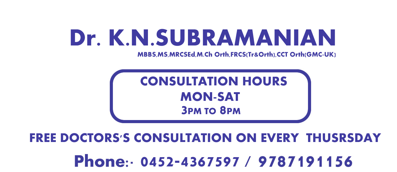 Best ortho hospital in madurai